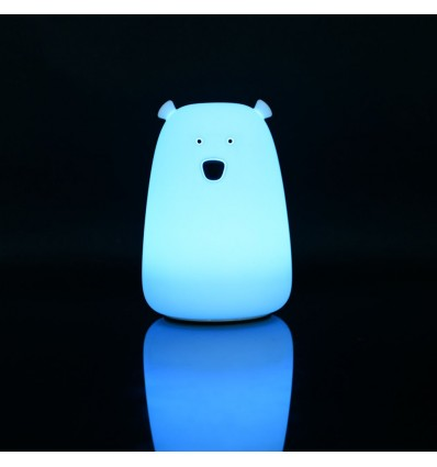 Bear rechargable soft night light