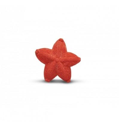 natural rubber teething starfish
