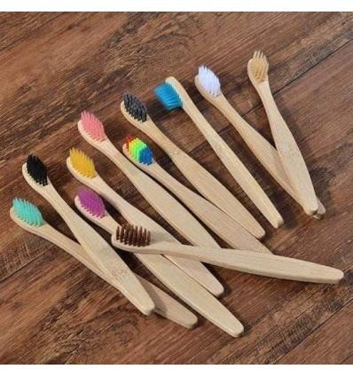 cepillo dientes infantil bambú