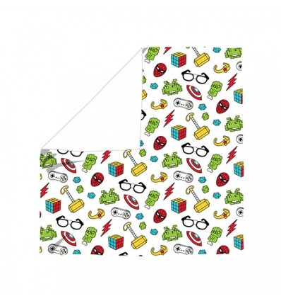 nerd cotton swaddle blanket
