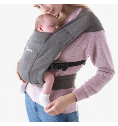 ergobaby embrace baby carrier grey