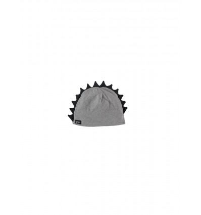 mohawk grey cotton beanie