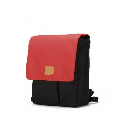 reflap eco recycled diaper backpack red