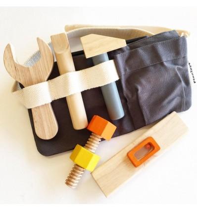 wooden tool belt