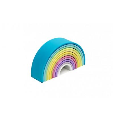 Arcoiris silicona dëna pastel 12 arcos