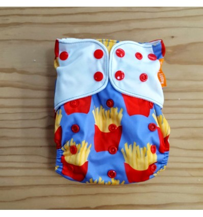 french fries cloth diaper