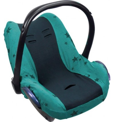 universal car seat cover green stars