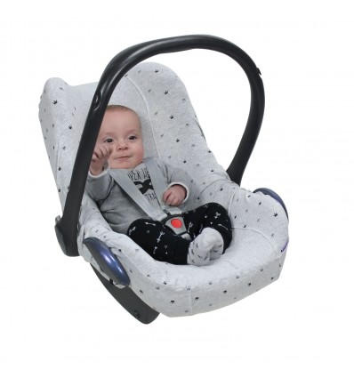 universal car seat cover crown grey