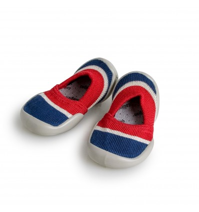 collegien espadrilles red and navy