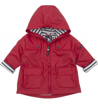 baby raincoat red