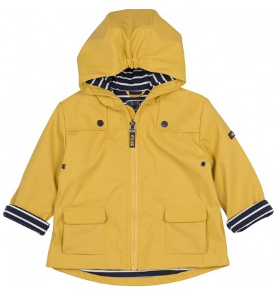 baby raincoat yellow