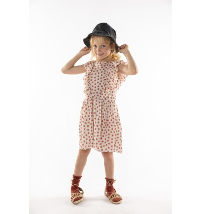frill dress dots
