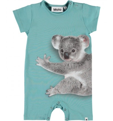 baby beachsuit koala mint