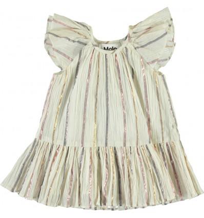 cindie metallic baby dress