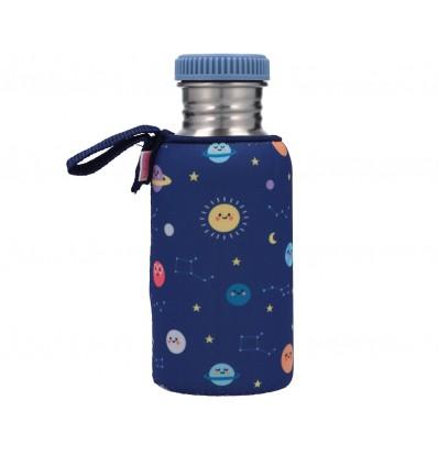 botella acero planetas 500 ml