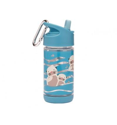 baby otter flip & sip tritan bottle
