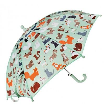 nine lives cats umbrella