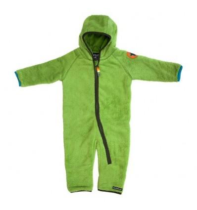 buzo bebé polar peluche verde