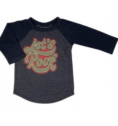 camiseta let's rock