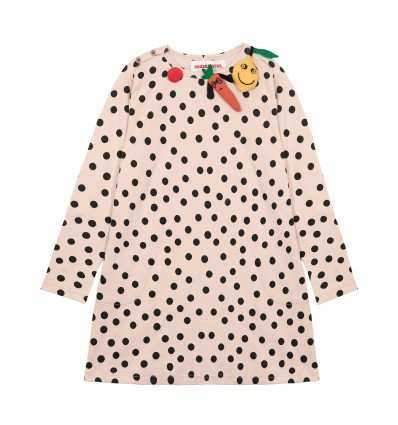 fuit & vegetable dot dress