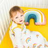 Babasac multi tog baby sleeping bag rainbow yellow