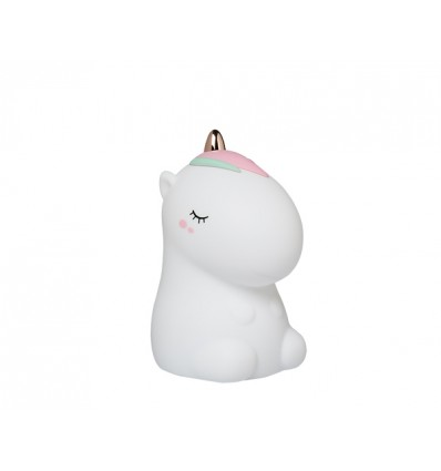 unicorn rechargable soft night light