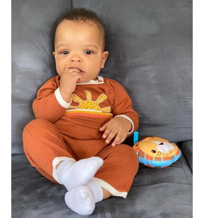 sunset vintage baby coverall
