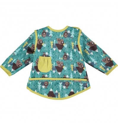 bear recycled coverall bib