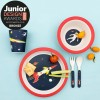 space age bamboo dinner set