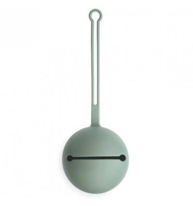 silicone pacifier holder cambridge blue