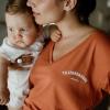 terracotta Breastfeeding Tee