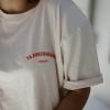 Camiseta lactancia lisa crudo
