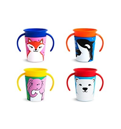 360 miracle sippy cup animals
