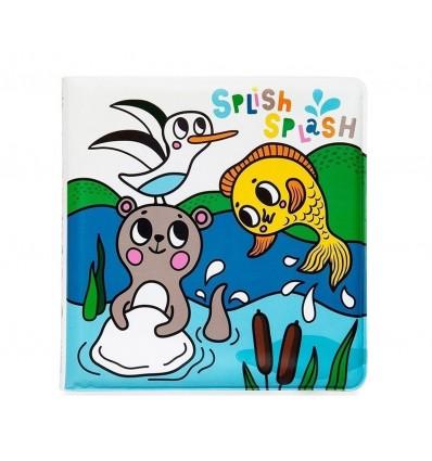 Sea animals magic bath book