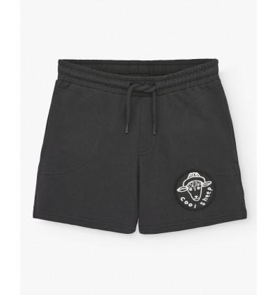 shorts negros cool sheep