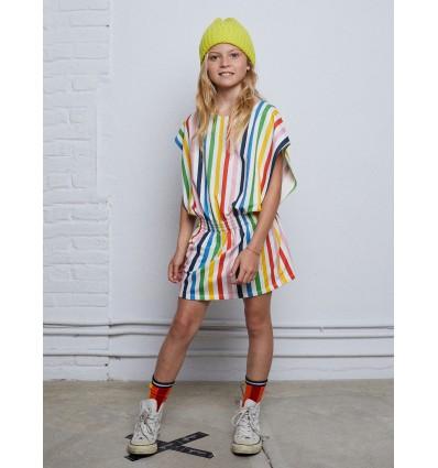 vestido mini arcoiris