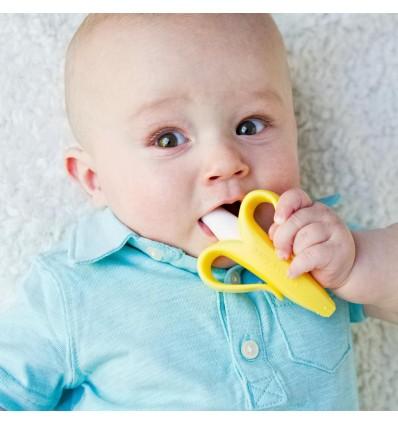cepillo dientes para bebés baby banana