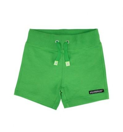 green organic shorts