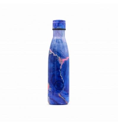 Insulated 500 ml steel bottle LIQUID BLUE