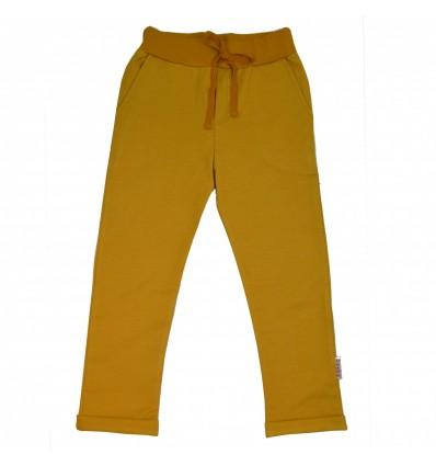 mustard organic baggy pants
