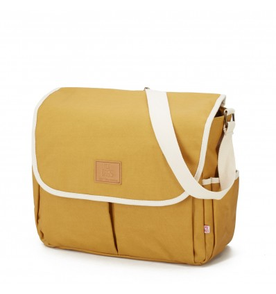 my bags happy family stroller changing bag mustard