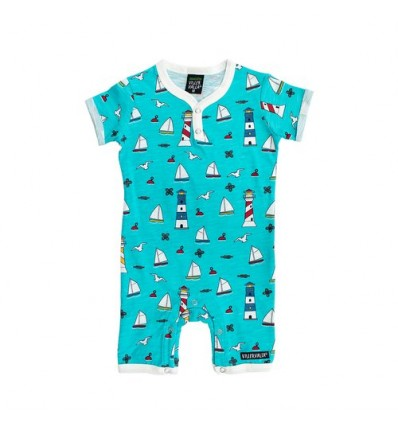 lighthouse organic baby summer suit