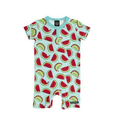 watermelon organic baby summer suit