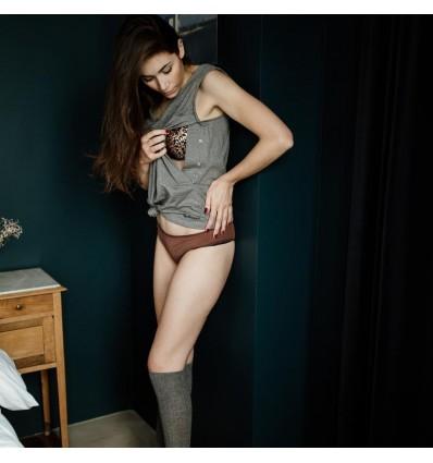 grey Breastfeeding Tank