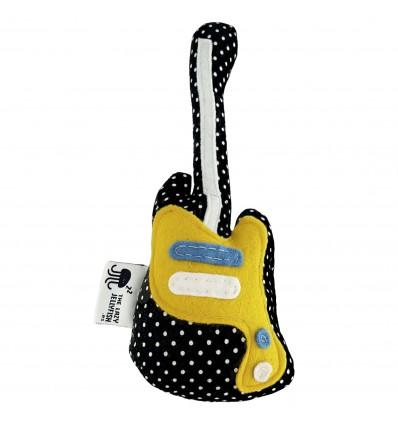 Sonajero guitarra negra lunares The Shins
