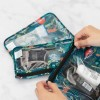 clear travel bag 3-pack jungle