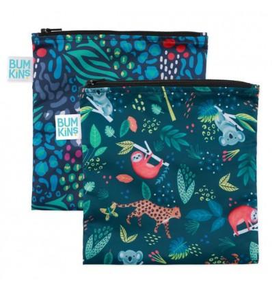 snack bag 2-pack jungle