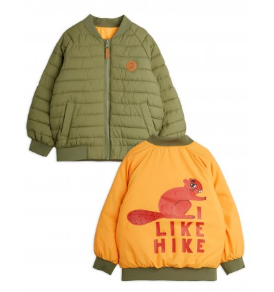 beaver insulator reversible jacket
