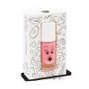 pink nail polish cookie