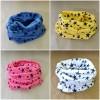 cotton ring scarf stars